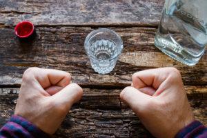 Alkoholizm, Alkoholik przerywa picie